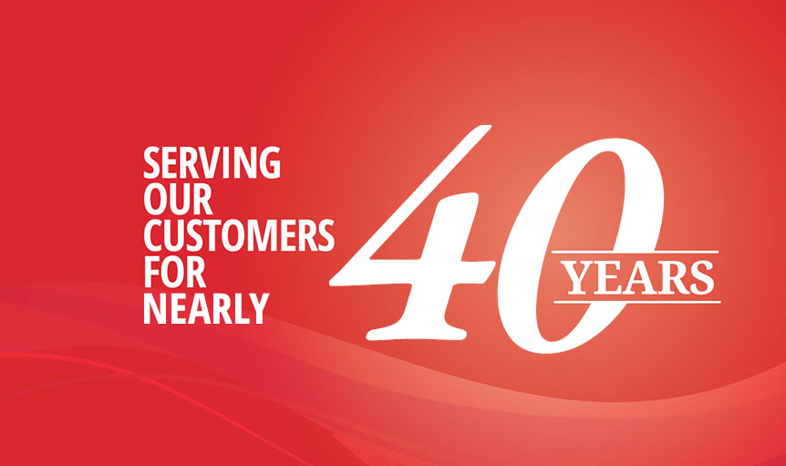Serving Our Customers for 35 Years